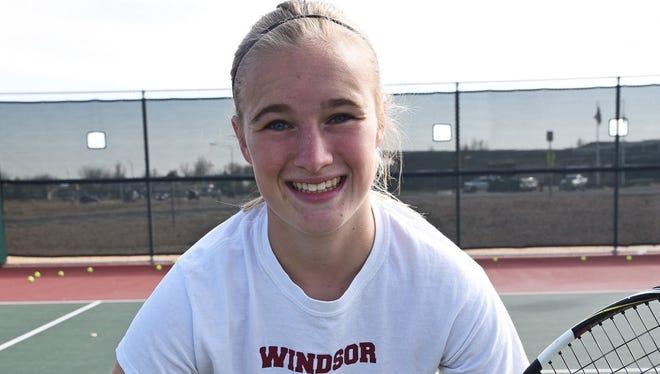 Windsor High School's Amanda Ward is the Coloradoan Female Athlete of the Week.