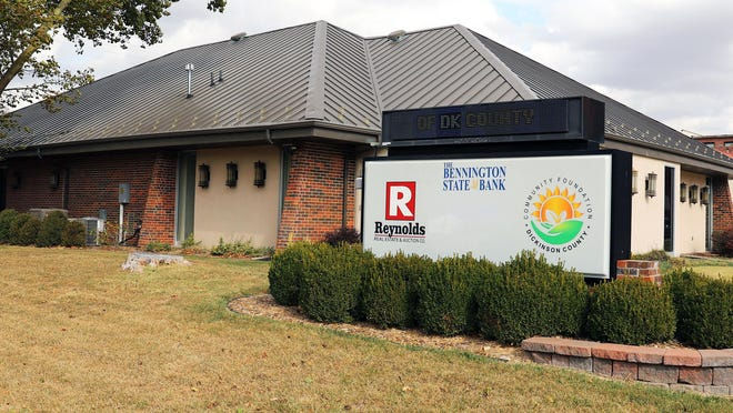 The Bennington State Bank is branching out into Dickinson County by opening a new loan production office in Abilene.