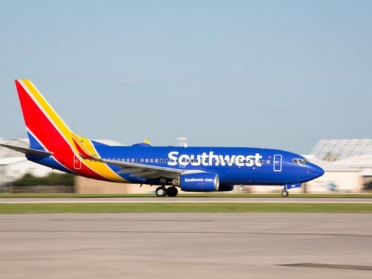 Southwest said in a regulatory filing that October revenue is down about 65% from a year ago, and that November and December revenue will be off 60% to 65%.