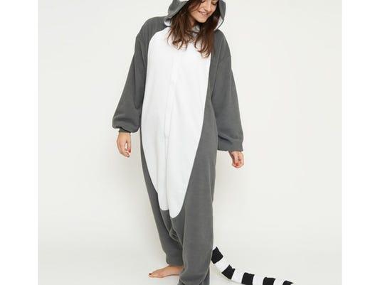 A lemur costume.