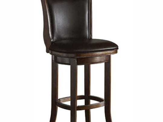 Spencer bar stool footrests can crack, compromising the strength of the bar stool, raising the risk of a fall.