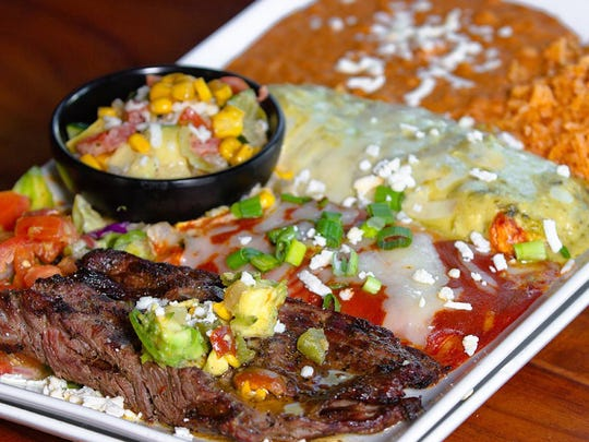 A combination plate at El Charro Cafe in downtown Tucson. Credit: JCarrillo Photography.