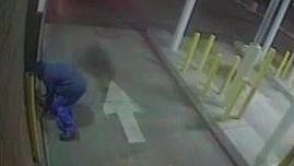 Suspect in a Wednesday night robbery at an ATM outside a Wells Fargo bank on Hooper Avenue in Toms River.