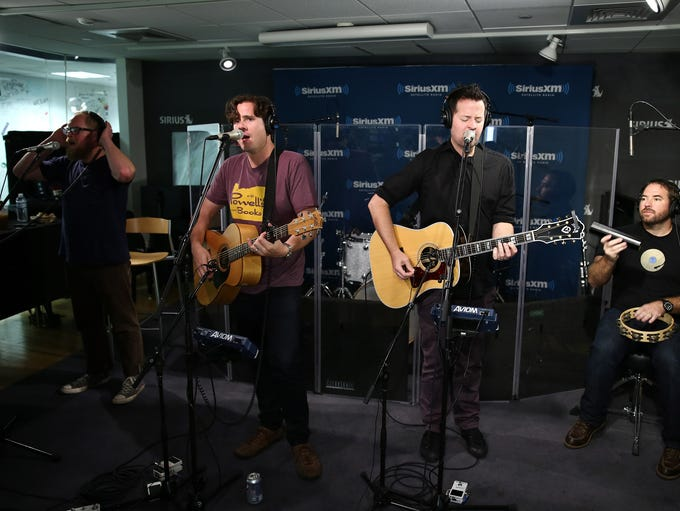 Punk band Jimmy Eat World hails from Mesa. Guitarist and front man Jim Adkins and drummer Zach Lind met while attending Mountain View High. Guitarist Tom Linton and bassist Rick Burch went to Westwood High.