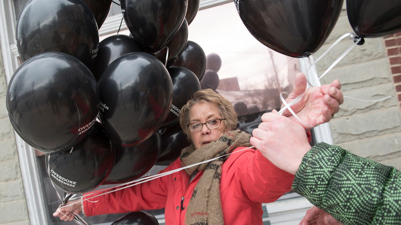 March 6th is Black Balloons Day to bring awareness for drug addiction and overdose. Vicki Rhodes, who lost her daughter, Teri, to a drug overdose.