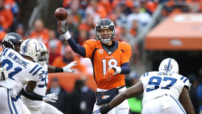 Peyton Manning still hasn't decided if he'll return for 2015.