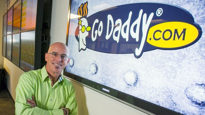 Blake Irving is CEO of GoDaddy, which Thursday set a price per share of $17 to $19 for a possible initial public offering