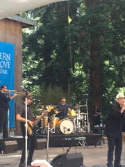 Eric Burdon and the Animals perform at Stern Grove in San Francisco in June.