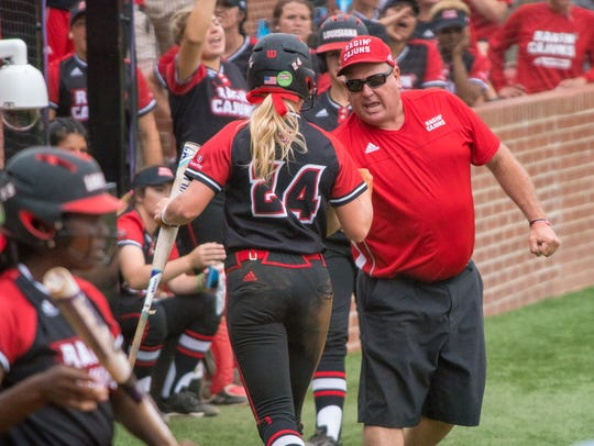 UL coach Gerry Glasco's softball program is ranked as high as No. 15 nationally in the preseason polls.