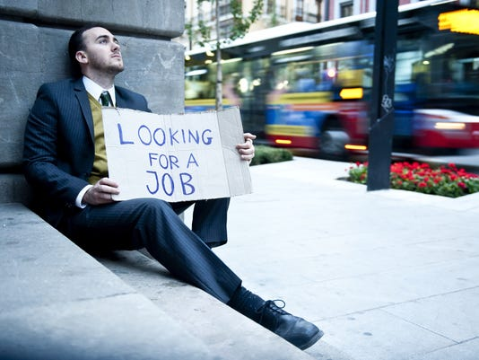 Highly educated, unemployed and tumbling down