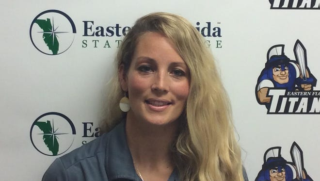 MJ Baker is the new women's basketball coach at Eastern Florida State College.