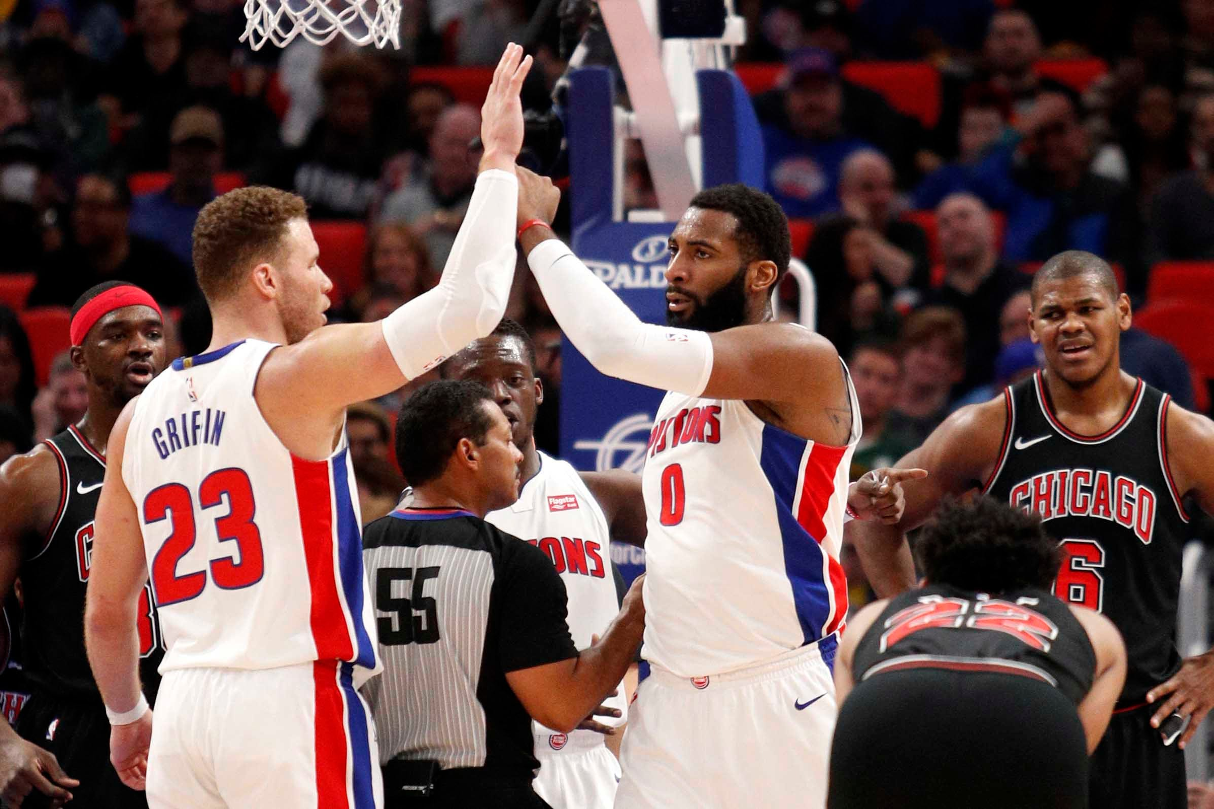 graphic relating to Detroit Pistons Printable Schedule named Detroit Pistons 2018 preseason timetable: Although are they dwelling?