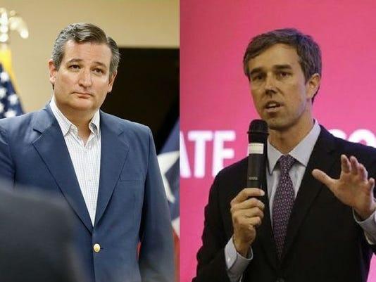 Ted Cruz Beto O'Rourke Mashup
