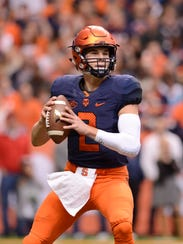 Syracuse quarterback Eric Dungey has played well for