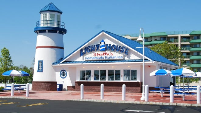 Strollo's Lighthouse in Long Branch.