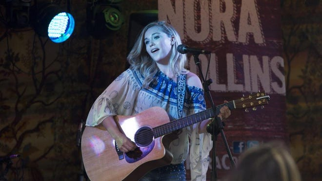 Brookfield-born, Nashville-based country artist Nora Collins is selling a new seven-song CD exclusively at her Wisconsin shows this summer.