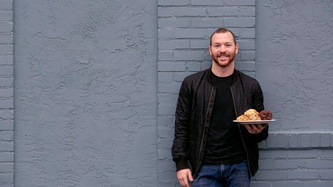 Brad Kaplan, founder of Lion Cub's Cookies
