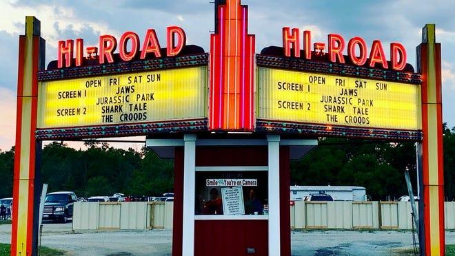 The Hi-Road Drive-In in Kenton