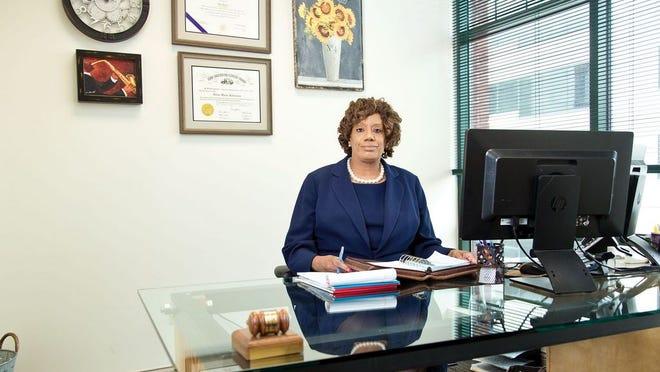 Attorney Helen Robinson of Marshall & Forman