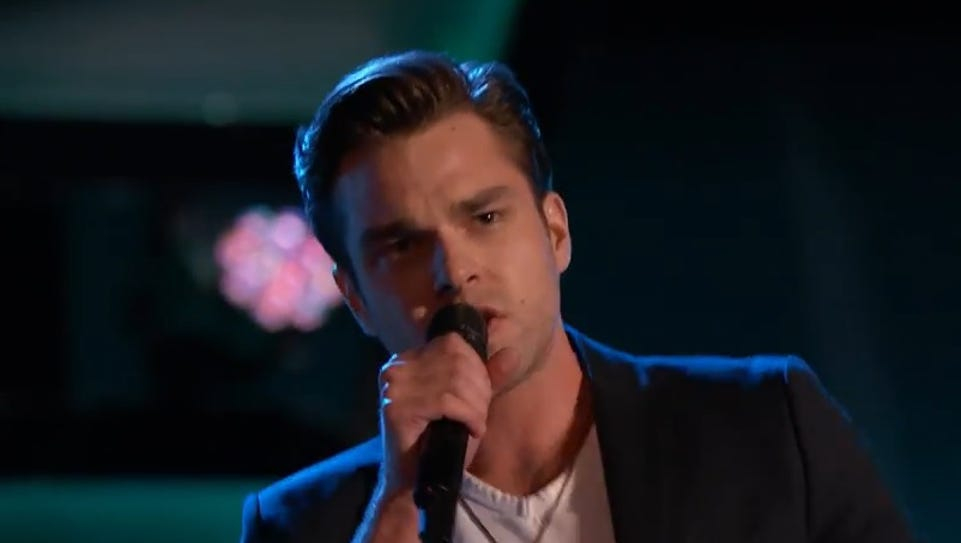 Lafayette native Travis Ewing auditions for 'The Voice'
