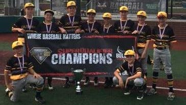 The Indiana Outlaws' 12-and-under team is headed to the Travelball Select National Championship this week in Marietta, Georgia.
