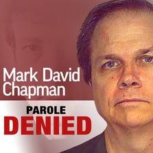 Mark David Chapman's parole denied.