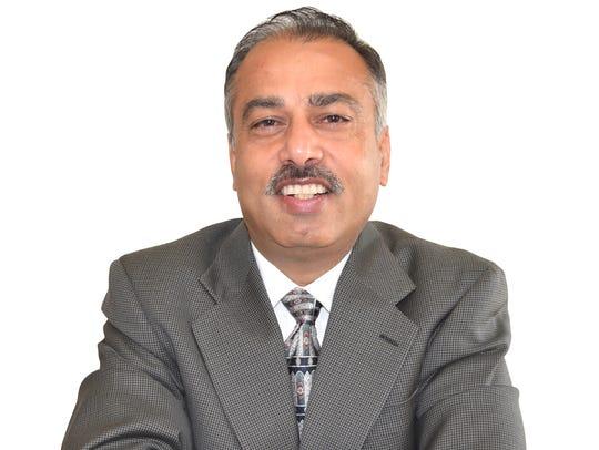 Lokesh Kumar of Okemos is running as a Republican in