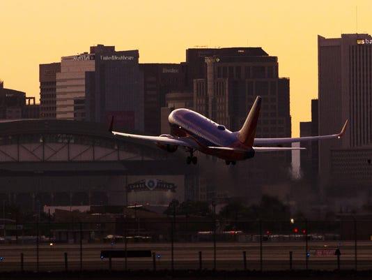 PNI decibel levels of the new Sky Harbor flight path