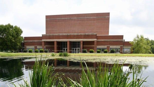 The Henderson Fine Arts Center on the Henderson Community College campus.