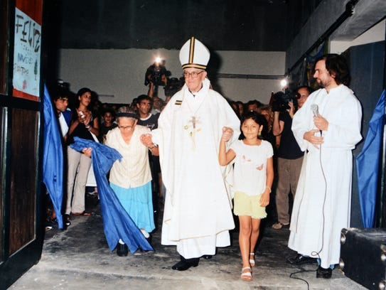 In his time as archbishop of Buenos Aires, the future