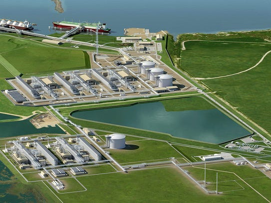 Cheniere Energy Inc. has applied to Gregory-Portland