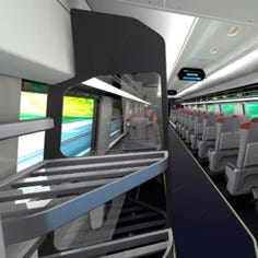 First look: Inside Amtrak's new Acela Express trains