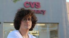 Hilde Hall, a transgender woman, says a CVS pharmacist