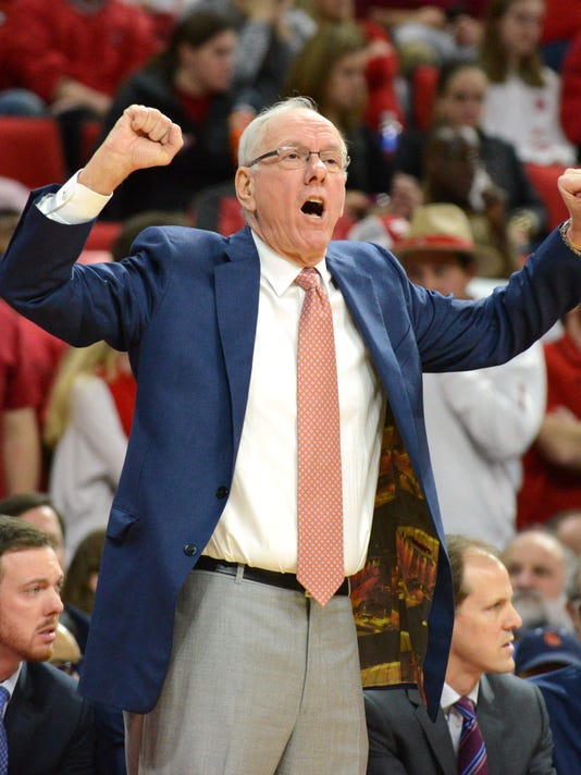 NCAA Basketball: Syracuse at North Carolina State
