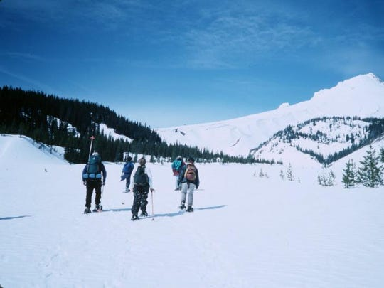 Best snowshoe routes in Oregon. No. 2 ? White River Canyon. The White River canyon below Mount Hood can be accessed by the White River Sno-Park west and east.