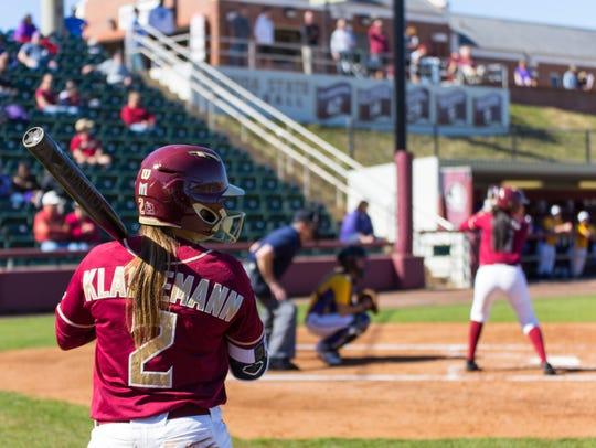 Florida State junior outfielder Morgan Klaevemann is