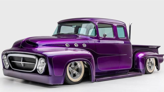 """Chopped 1956 Ford pickup """"Memphis Hell"""""""