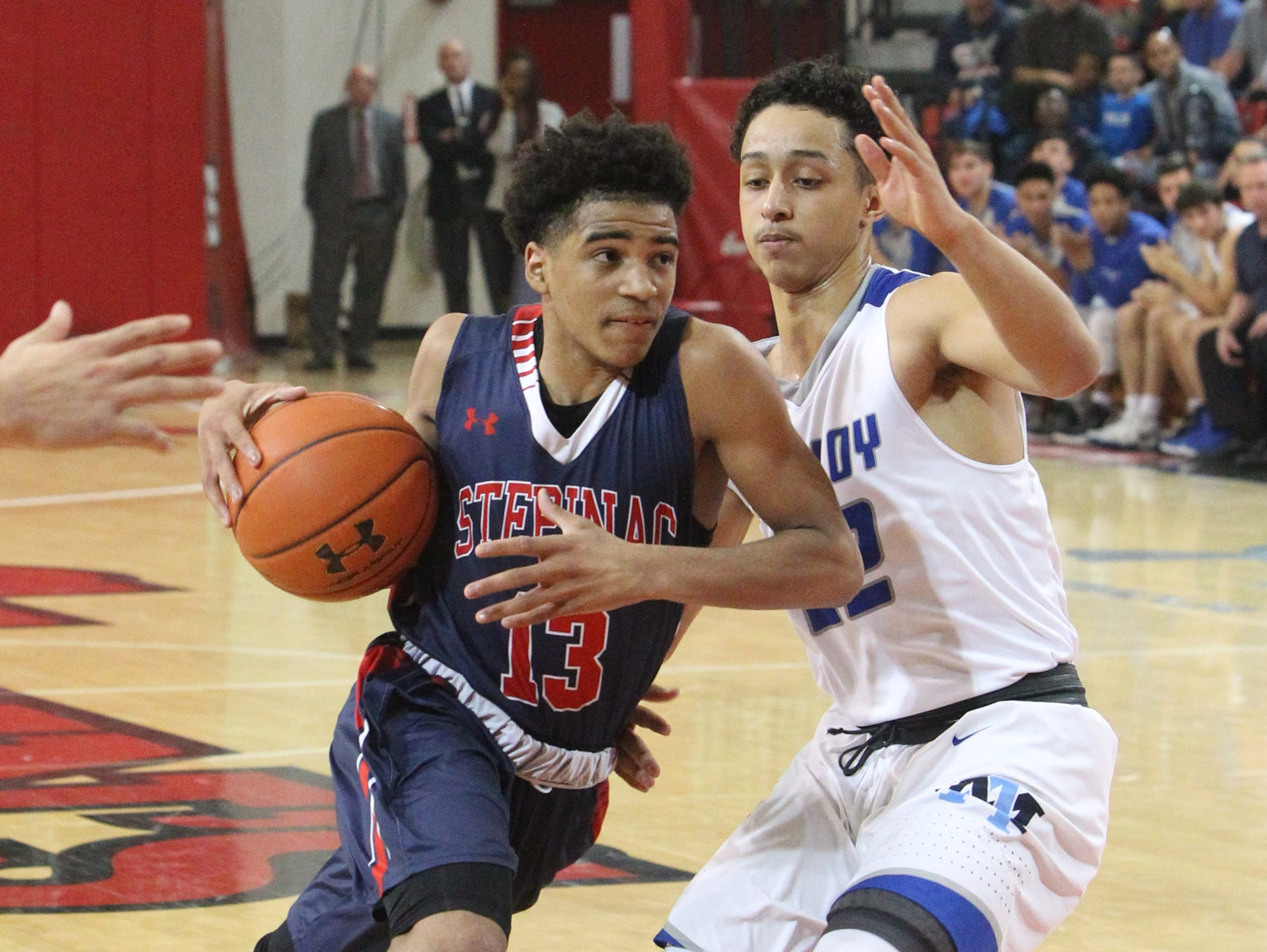 Stepinac lost to Archbishop Molloy 70-69 in a CHSAA