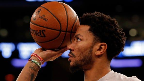 Knicks guard Derrick Rose still has high hopes for