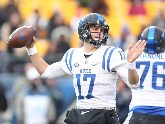 NCAA Football: Duke at Pittsburgh