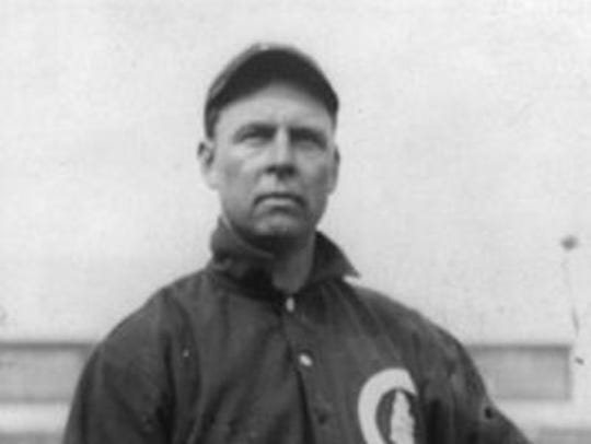 Mordecai Brown - baseball player from Nyesville, Indiana.