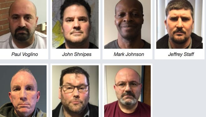 7 current and former guards at Lackawanna County Prison in Scranton, Pa., are accused of abusing their positions of power to coerce sex from female inmates.
