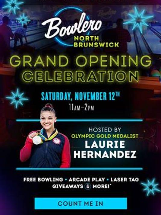 North Brunswick: Bowlero location to open Nov. 12 PHOTO CAPTION