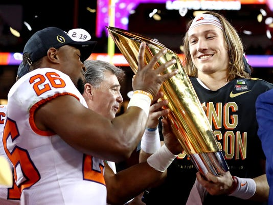 Trevor Lawrence and Clemson will be right back in the hunt next year