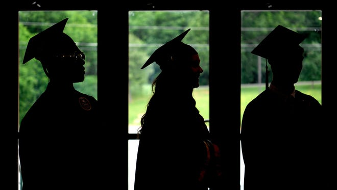 Robertson County Schools posted the highest graduation rate in Middle Tennessee for the 2016-17 school year.
