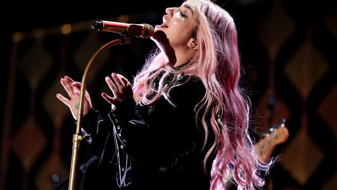 Kesha performs onstage during 102.7 KIIS FM's Jingle Ball 2017 presented by Capital One at The Forum on Dec. 1, 2017. in Inglewood, Calif.