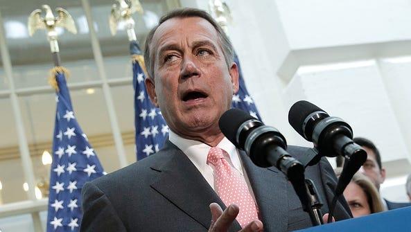 Former GOP House Speaker John Boehner predicts Congress