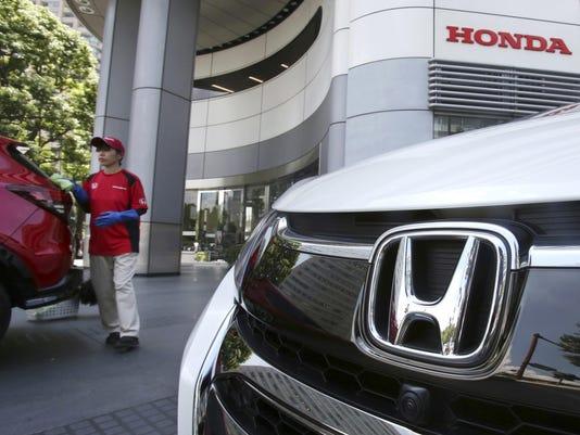 Japan Honda Recall