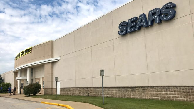 The Sears store in Lafayette is entering its final month at the Tippecanoe Mall. The store is expected to close to the public Sept. 2.