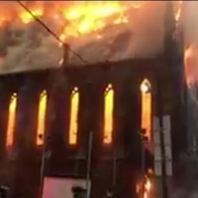 A still from a video posted by New York City's Fire Department
